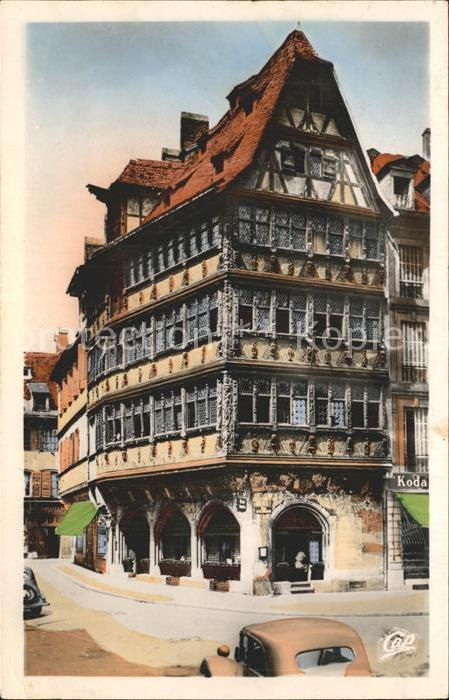Strasbourg Alsace Maison Kammerzell Kat. Strasbourg