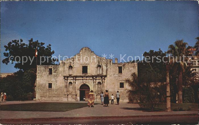 San Antonio Texas The Alamo Kat. San Antonio