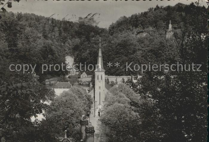 Luxembourg Luxemburg Eglise de Clausen Kat. Luxembourg