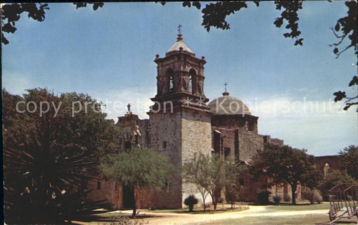 San Antonio Texas San Jose Mission Kat. San Antonio