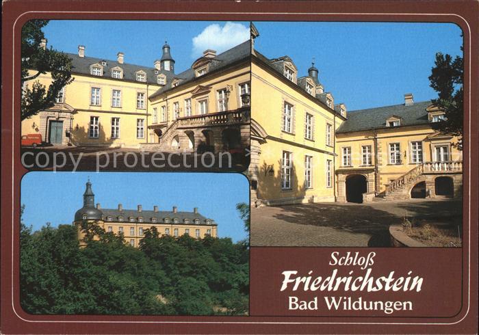 Bad Wildungen Schloss Friedrichstein  Kat. Bad Wildungen