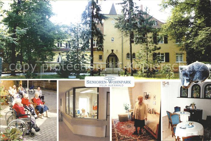 Ak auenwald oberbr den parkanlagen kindergarten und for Auenwald leipzig