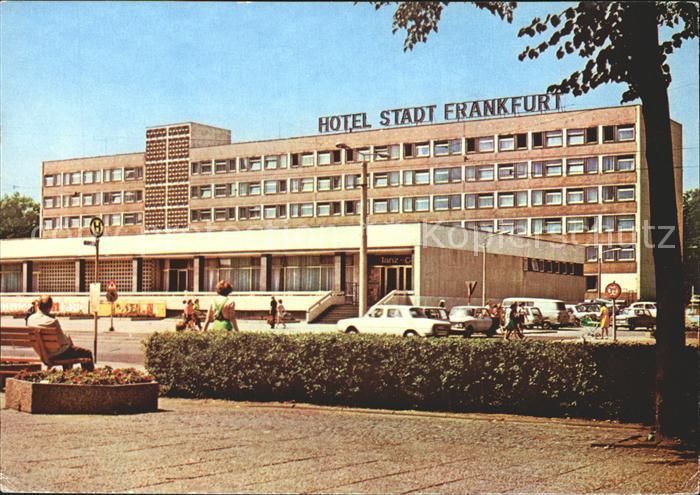 Frankfurt Oder Hotel Stadt Frankfurt Kat. Frankfurt Oder