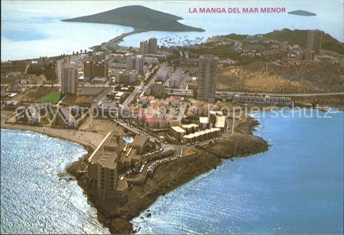Cartagena Murcia Fliegeraufnahme Kat. Cartagena