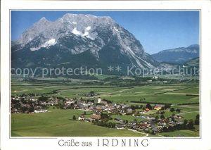 Irdning Fliegeraufnahme Kat. Irdning Ennstal Steiermark