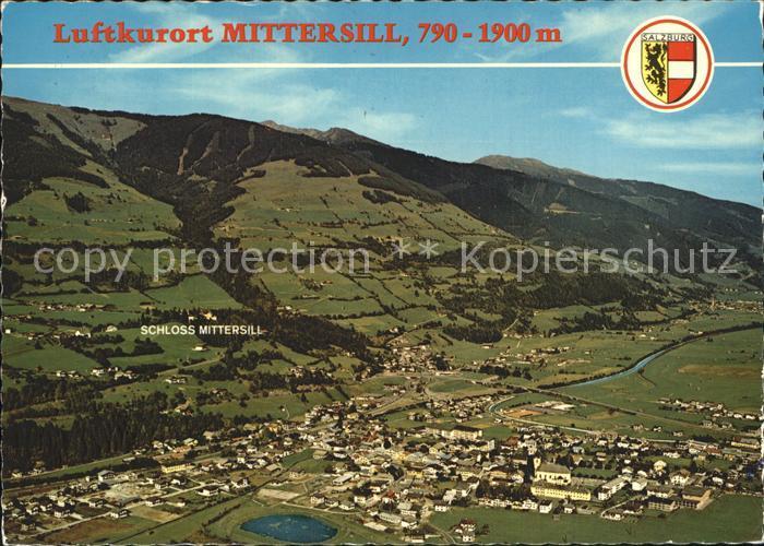 Mittersill Oberpinzgau Stadtansicht Kat. Mittersill
