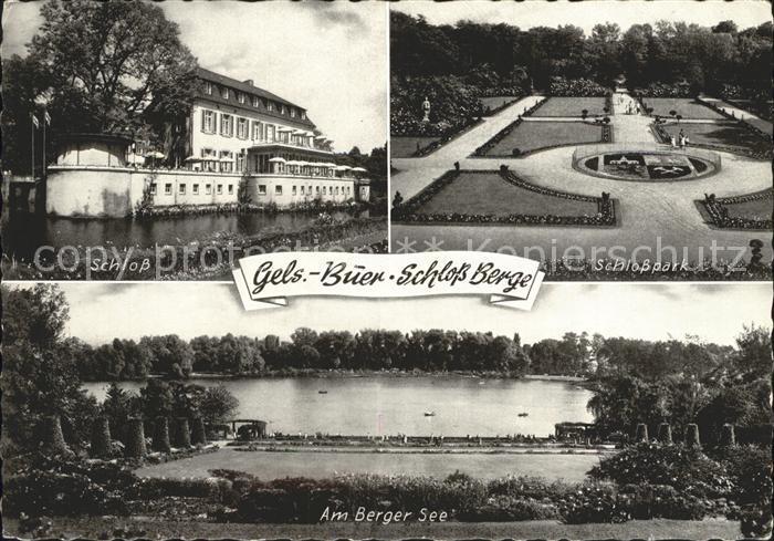 Buer Gelsenkirchen Schloss Berge Schlosspark Berger See  Kat. Gelsenkirchen