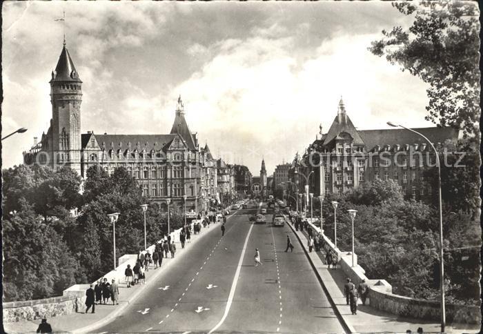 Luxembourg Luxemburg Adolphe et Avenue de la Liberte Kat. Luxembourg