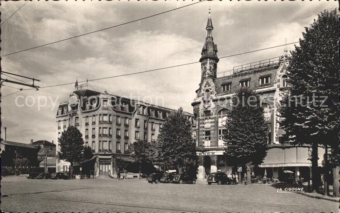 Valenciennes Place de la gare Kat. Valenciennes