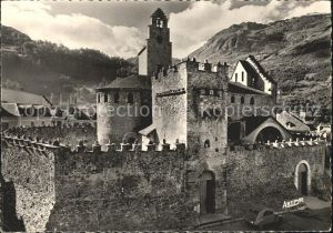 Luz Saint Sauveur Hautes Pyrenees Eglise fortifiee Kat. Luz Saint Sauveur