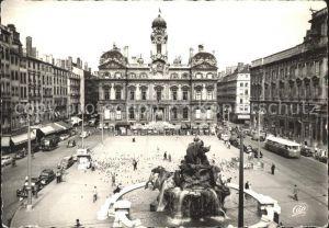 Lyon France Place des Terreaux Fontaine Kat. Lyon