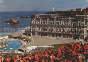 Biarritz Pyrenees Atlantiques Hotel Palais Hotel Miramar Phare  Kat. Biarritz
