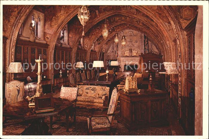 San Simeon Gothic Study Castle  Kat. San Simeon