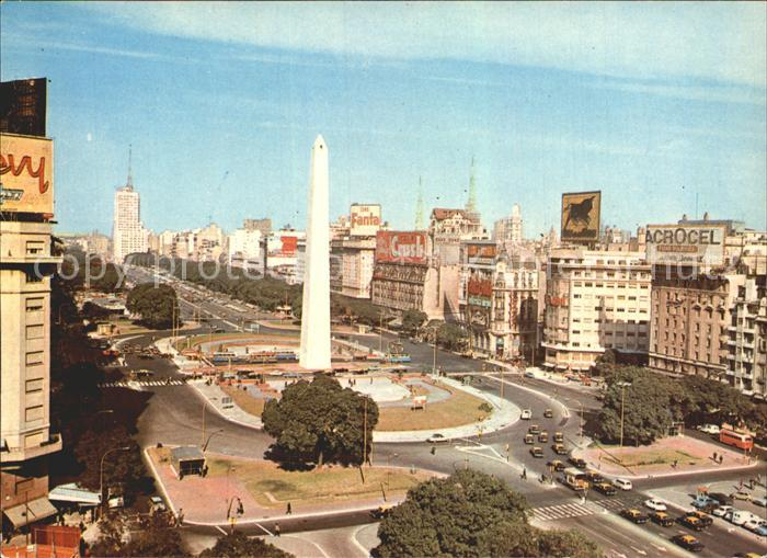Buenos Aires Av. 9 de Julio Kat. Buenos Aires