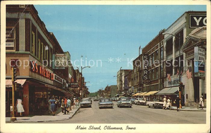 Ottumwa Main Street Kat. Ottumwa