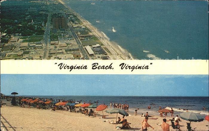 Virginia Beach Fliegeraufnahme Beach Kat. Virginia Beach