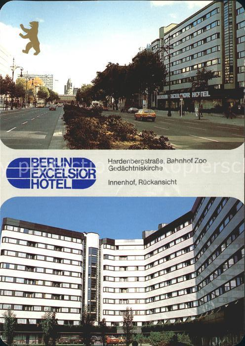 Excelsior Hotel In Berlin Hardenbergstr