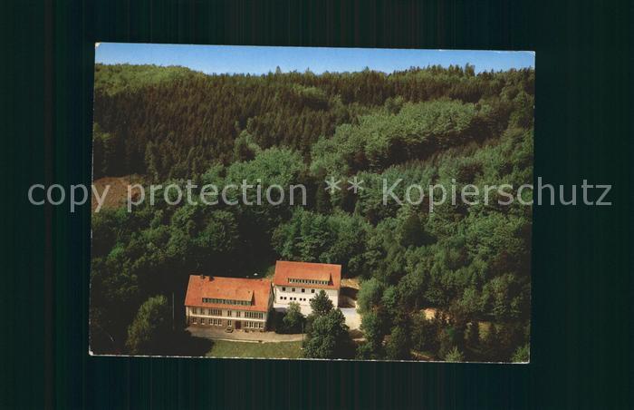 Roedinghausen Fliegeraufnahme Jugendheim des Kreises Herford Kat. Roedinghausen