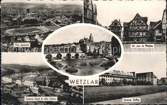 Wetzlar Vue generale Une coin de Wetzlar Caserne Lloyd et cites Cadres Caserne Gaffey Kat. Wetzlar