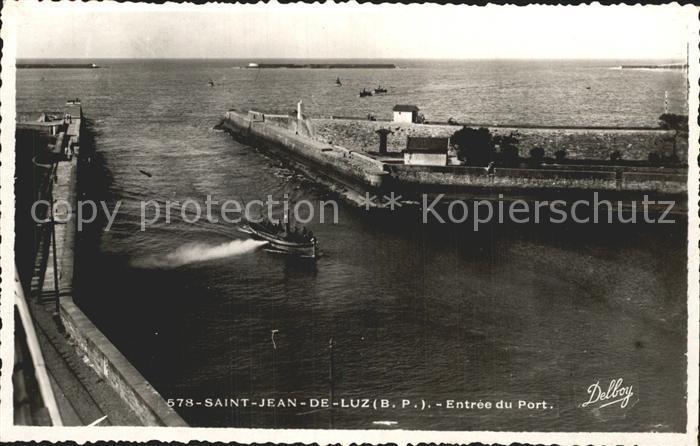 Saint Jean de Luz Entree du Port Kat. Saint Jean de Luz