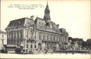 Tours Indre et Loire Hotel de Ville Kat. Tours