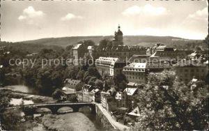 Weilburg Schloss und Lahnpartie Kat. Weilburg Lahn