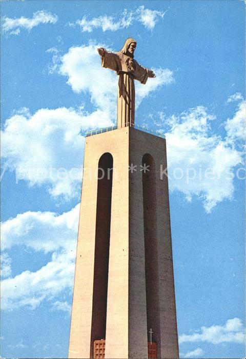 Almada Monument King Christ Kat. Almada