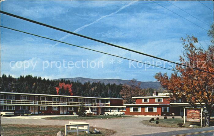 West Dover Andirons Motel Ski Lodge Kat. West Dover
