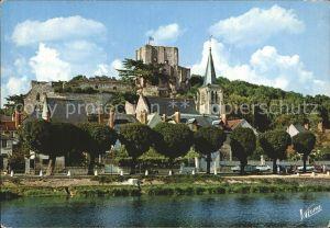 Montrichard Le Cher l`eglise Sainte Croix Kat. Montrichard