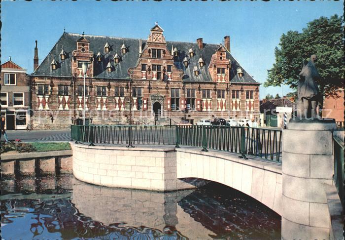 Middelburg Zeeland Militair Hospitaal Kat. Middelburg