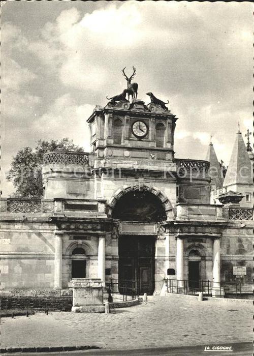 Anet Le Chateau Kat. Anet
