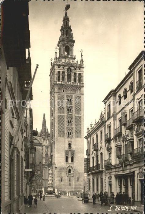 Sevilla Andalucia La Giralda Kat. Sevilla