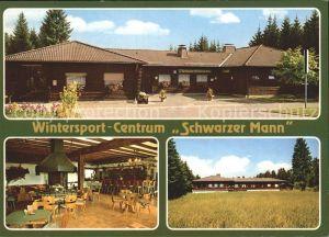 Gondenbrett Wintersport   Centrum Schwarzer Mann Kat. Gondenbrett