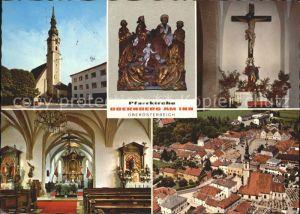 Obernberg Inn Pfarrkirche Kat. Obernberg am Inn