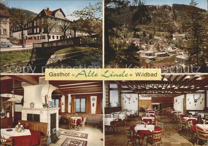 Wildbad Schwarzwald Gasthaus Alte Linde Kat. Bad Wildbad