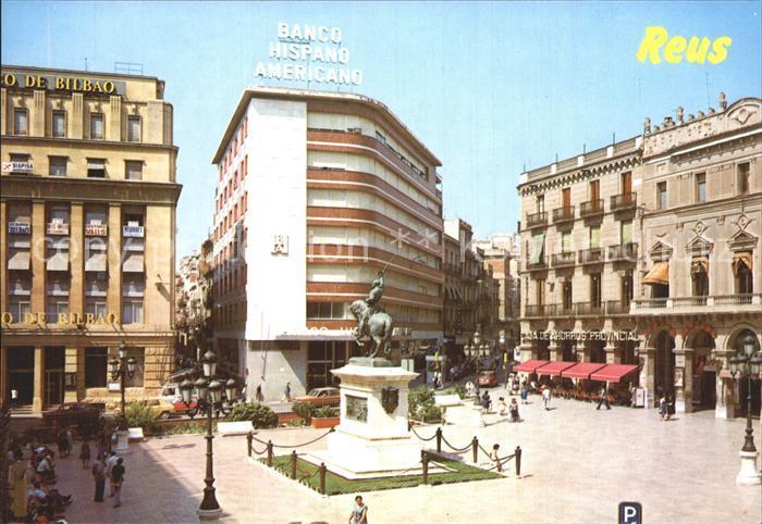 Reus Costa Dorada Tarragona Plaza Prim Kat. Reus