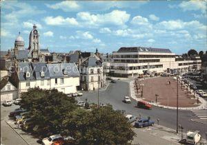 Tours Indre et Loire Place Halles Horloge basilique Saint Martin  Kat. Tours