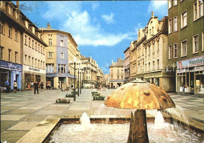 Zeitz Leninstrasse Brunnen Kat. Zeitz