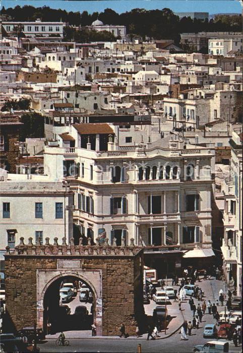 Tunis Blick auf die Medina Kat. Tunis