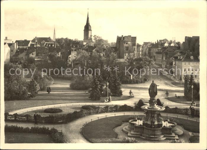 Weimar Thueringen Museumsplatz Kat. Weimar