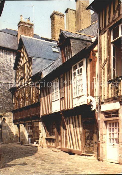 Rennes Rue de la Psalette Kat. Rennes