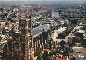 Soissons Aisne Fliegeraufnahme Cathedrale Kat. Soissons