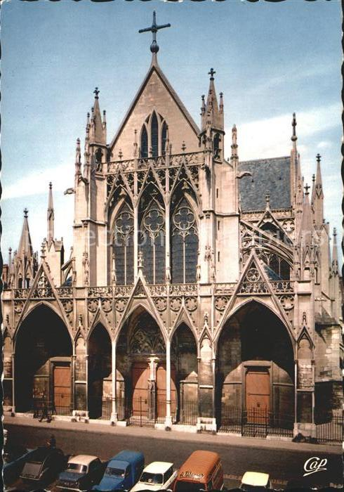Troyes Aube Eglise Saint Urbain Kat. Troyes