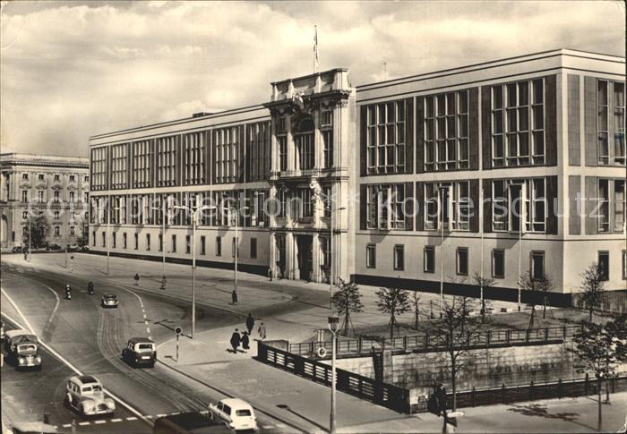 Berlin Gebaeude des Staatsrates der DDR Hauptstadt der DDR Kat. Berlin