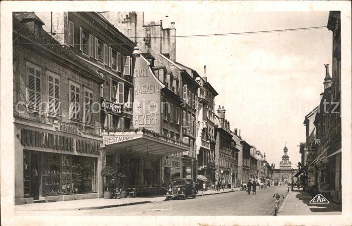 Pontarlier Doubs Grande Rue / Pontarlier /Arrond. de Pontarlier