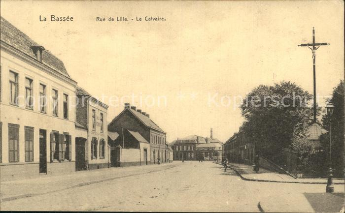 La Bassée Rue de Lille Le Calvaire / La Bassee /Arrond. de Lille