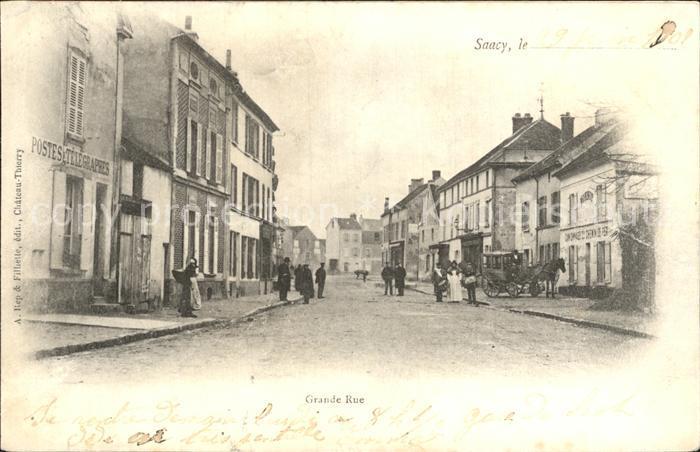 Saacy-sur-Marne Grande Rue / Saacy-sur-Marne /Arrond. de Meaux
