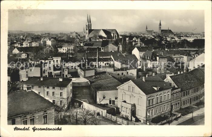 Stendal Gesamtansicht / Stendal /Stendal LKR