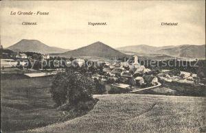 Grande-Fosse La Climont Voyemont Urbeistal / La Grande-Fosse /Arrond. de Saint-Die