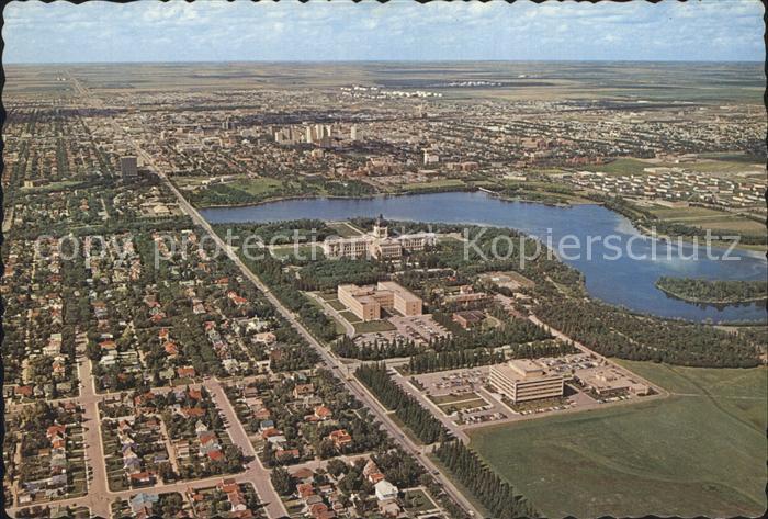 Regina Saskatchewan Fliegeraufnahme / Regina /